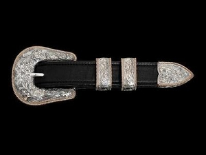 Forty Niner Western Buckle Set 071-259-5