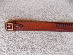 Monty Walsh Ranger Style Cartridge Belt CB153
