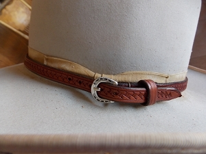 Leather Hat Band HB1