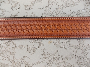 Tapered Basket Stamp Belt WBmd2