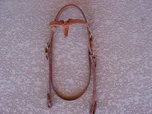 Knotted Browband Horse Headstall BH16RO
