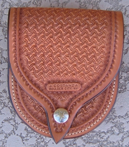 Texas Swirl Belt Pouch, small BP111