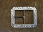 Clip Corner Sterling Silver Buckle Set BUF1