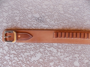 Plain Ranger Style Cartridge Belt CB114