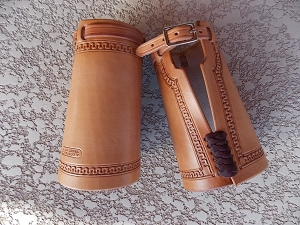 Buckled Cowboy Cuffs CF132
