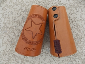 Texas Star Cowboy Cuffs cf133md