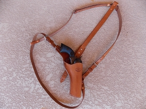 #2 Comstock  Gambler Shoulder Rig