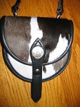 Black and White Convertible Purse 1