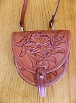 Floral Carved Purse 7