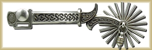 Celtic pattern Steel Spurs OTB50