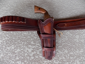 Western Rigs, Complete holster and Gun Belt Rigs