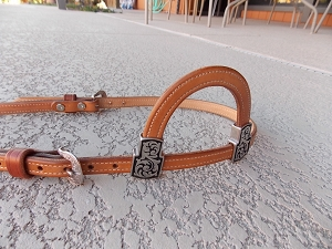 Sliding Ear Horse Headstall WSLSE