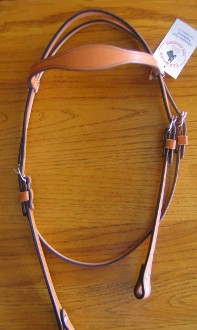 Shaped Brow bandHorse Headstall BA10