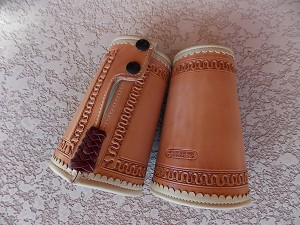 Scalloped Cowboy Cuffs CF124